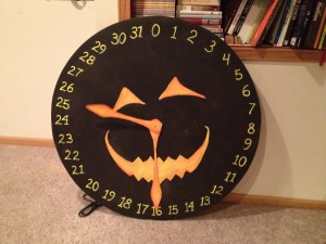 Halloween Count Down Clock